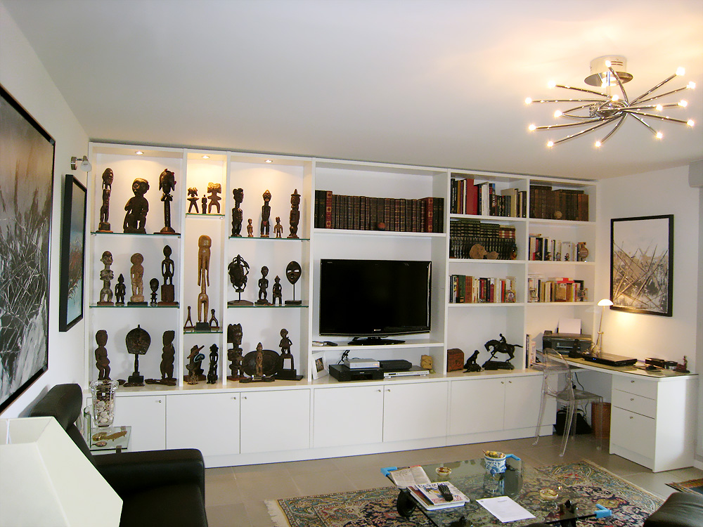 Amenagement bibliotheque salon colombes 3322 - Amenagement bibliotheque salon ...